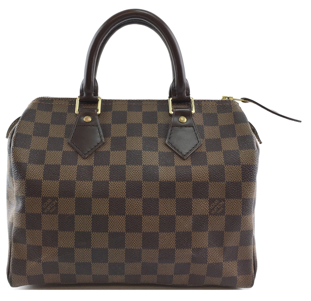 Louis Vuitton Speedy 25 Damier Ébène Canvas