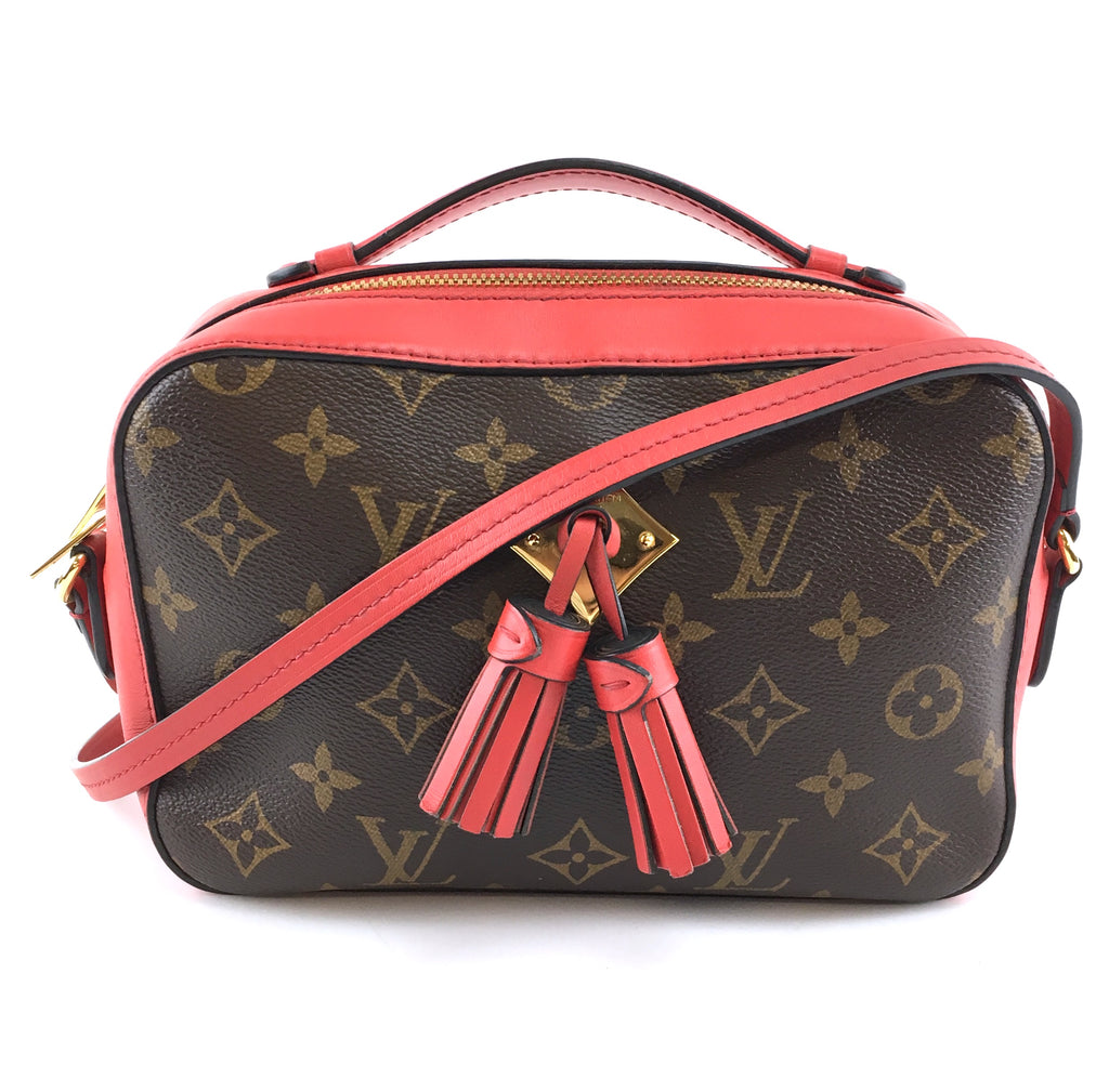 Louis Vuitton Saintonge Monogram Canvas Calfskin