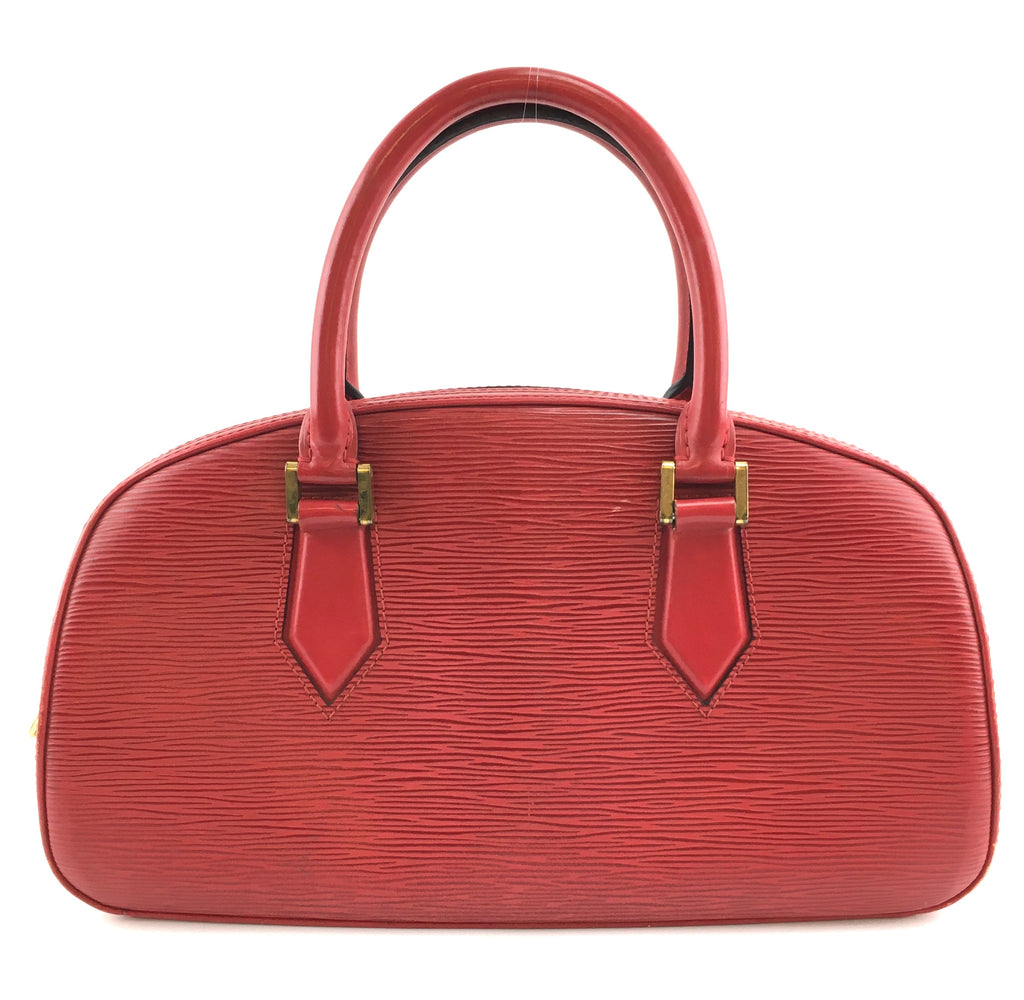 Louis Vuitton Jasmin Red Epi Leather