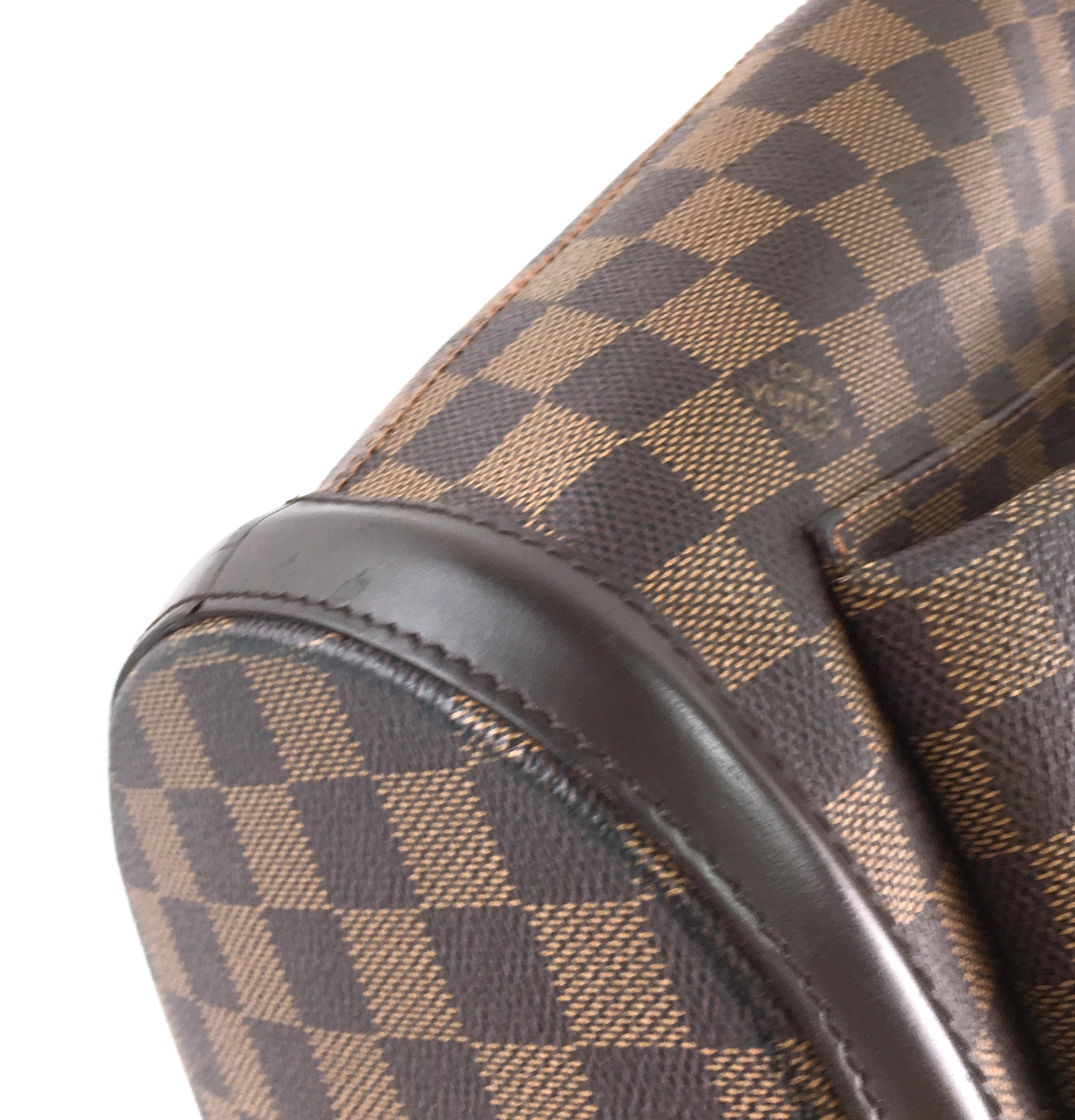 Louis Vuitton Manosque GM Damier Ébène Canvas
