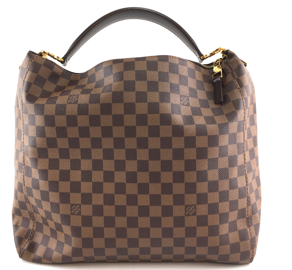 Louis Vuitton Portobello GM Damier Ebene Canvas