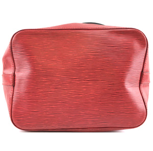 Louis Vuitton Bucket Petite Noe PM Red Epi Leather