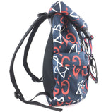Gucci Techpack Backpack Graffiti Ghost Mulitcolor Nylon