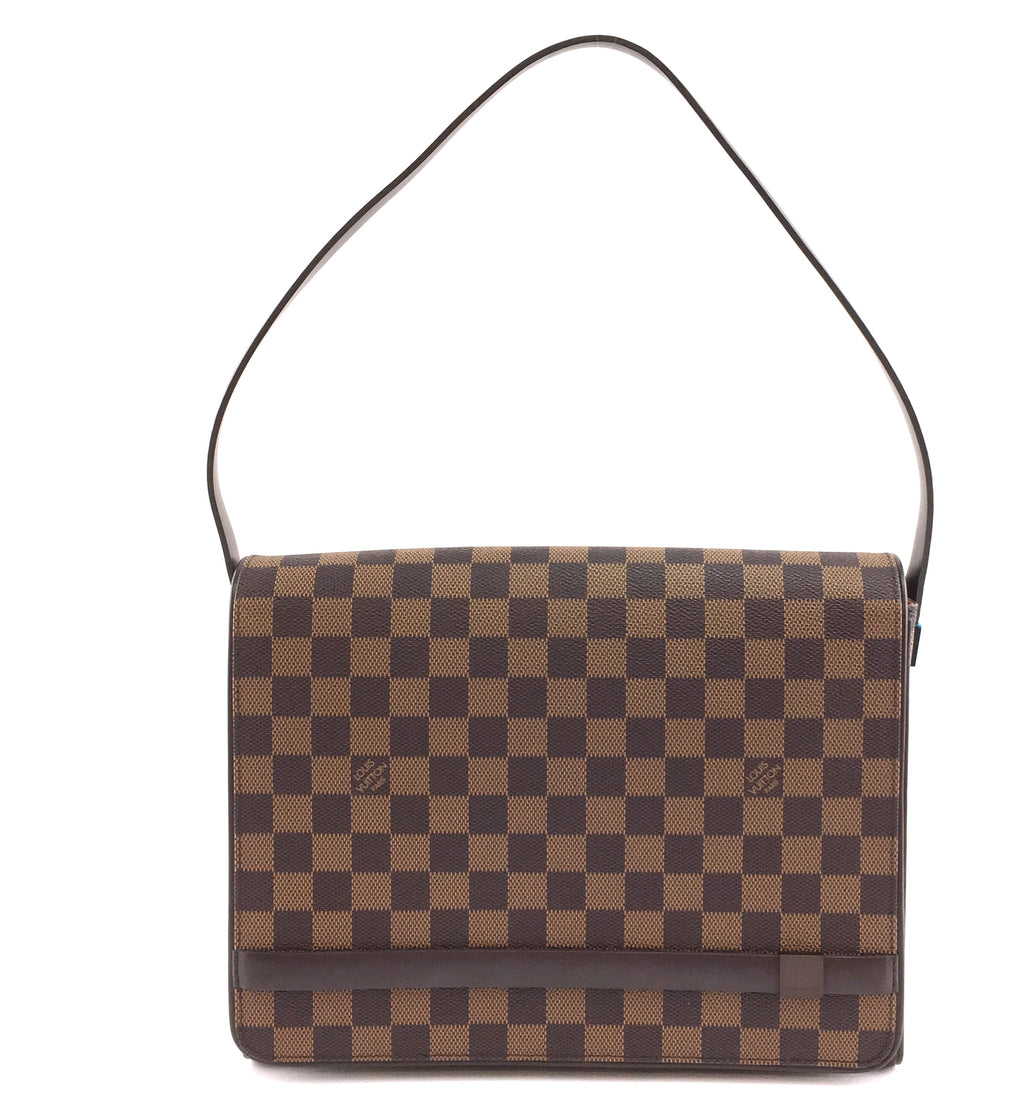 Louis Vuitton Tribeca Carre Damier Ébène Canvas