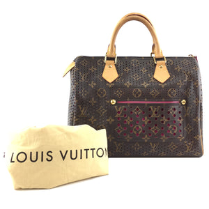 Louis Vuitton Monogram Speedy 30 Perforated