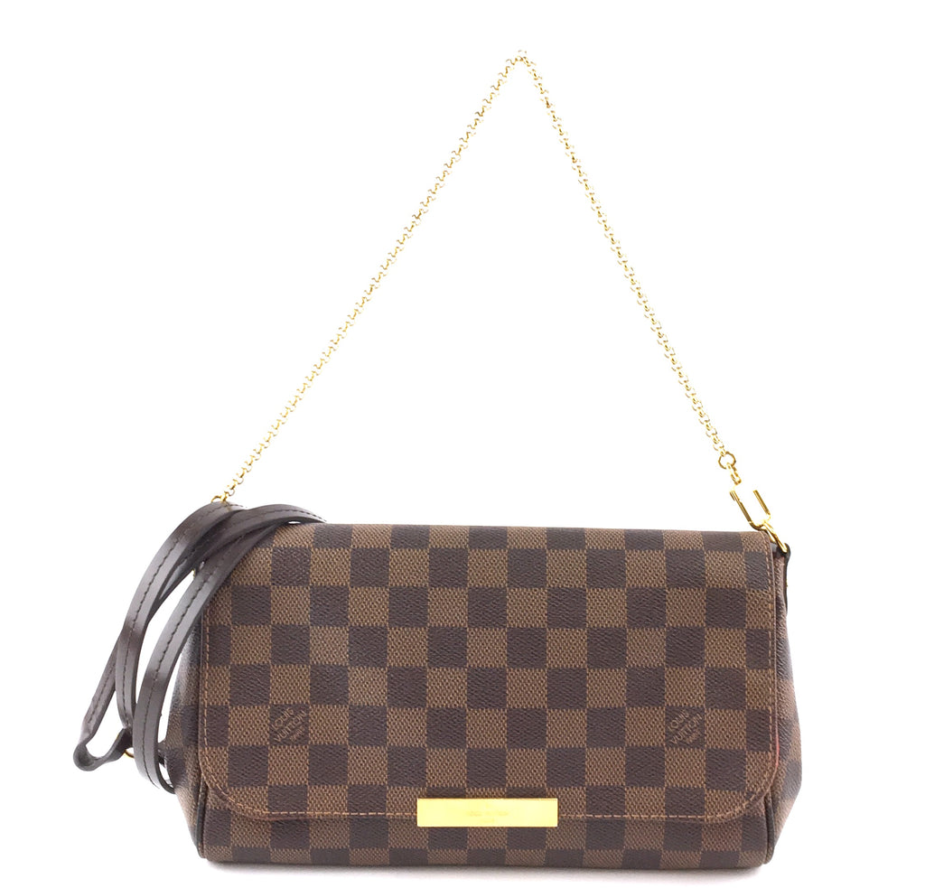 Louis Vuitton Favourite MM Damier Ébène Canvas