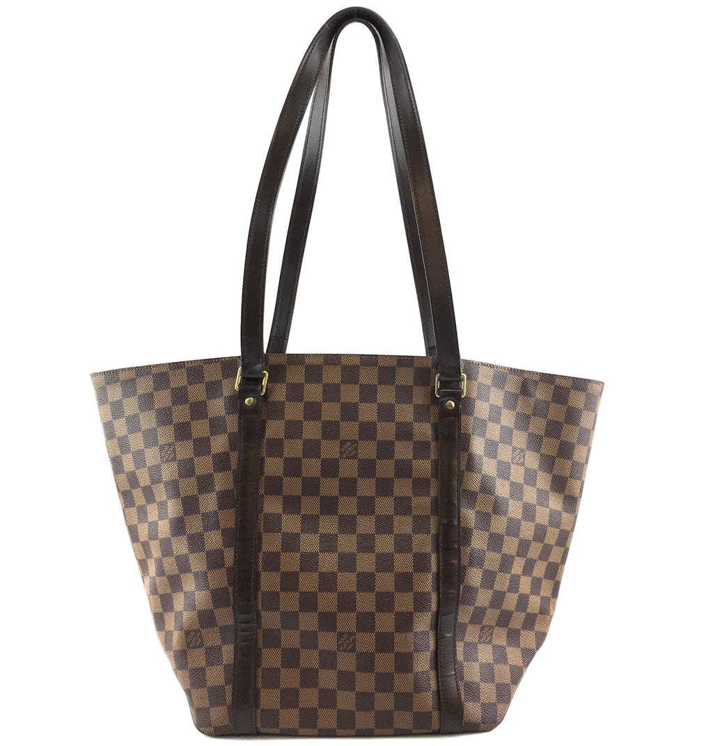 Louis Vuitton Sac shopping Damier Ébène Canvas