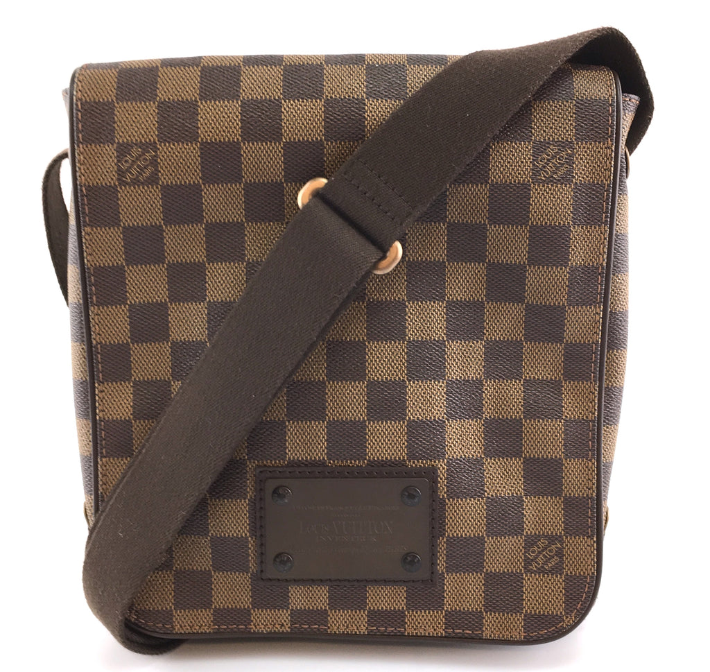 Louis Vuitton Brooklyn PM Damier Ebene Canvas