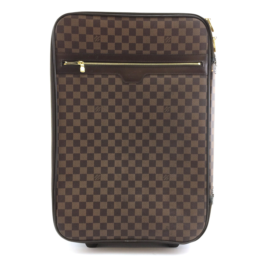 Louis Vuitton Pegase 55 Damier Ébène Canvas