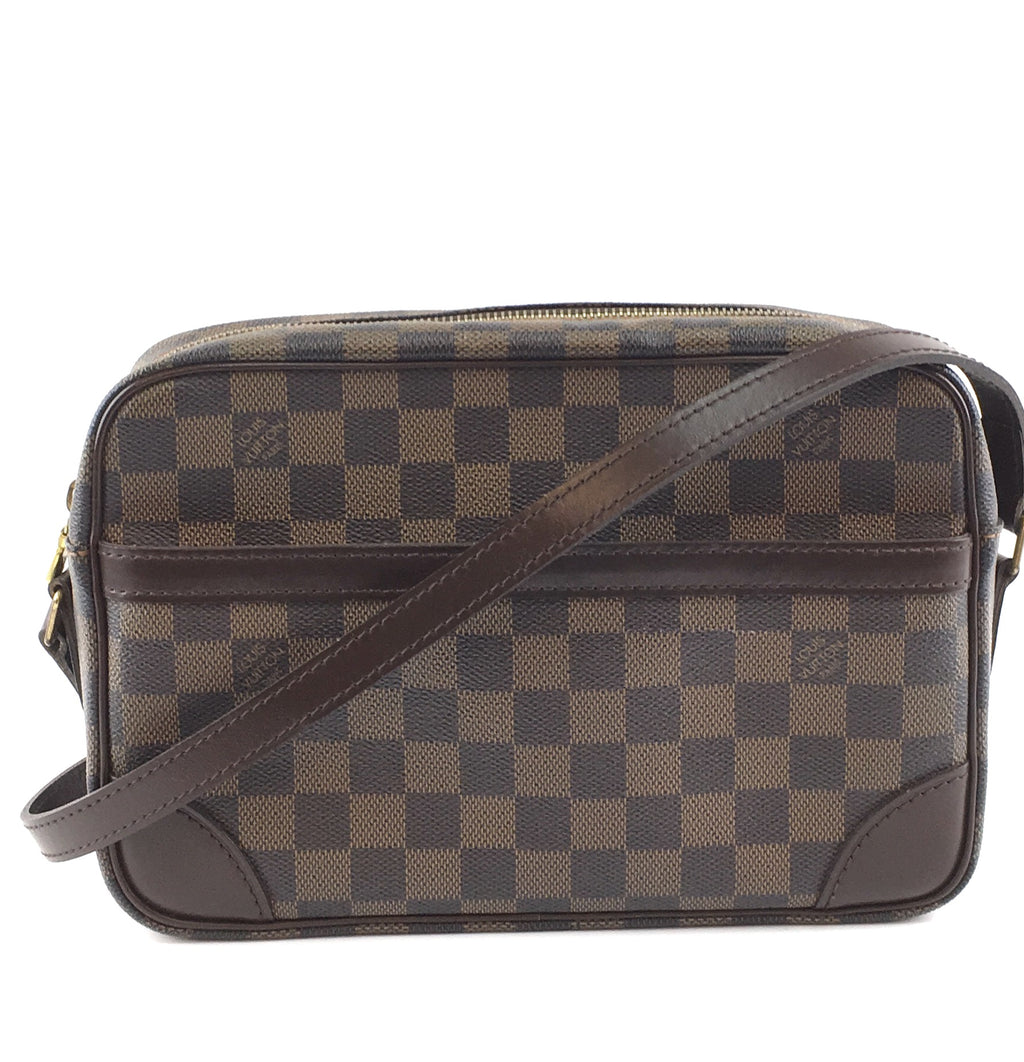 Louis Vuitton Trocadero Damier Ébène Canvas