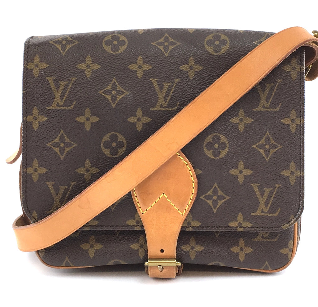 Louis Vuitton Messenger Cartouchiere Monogram Canvas