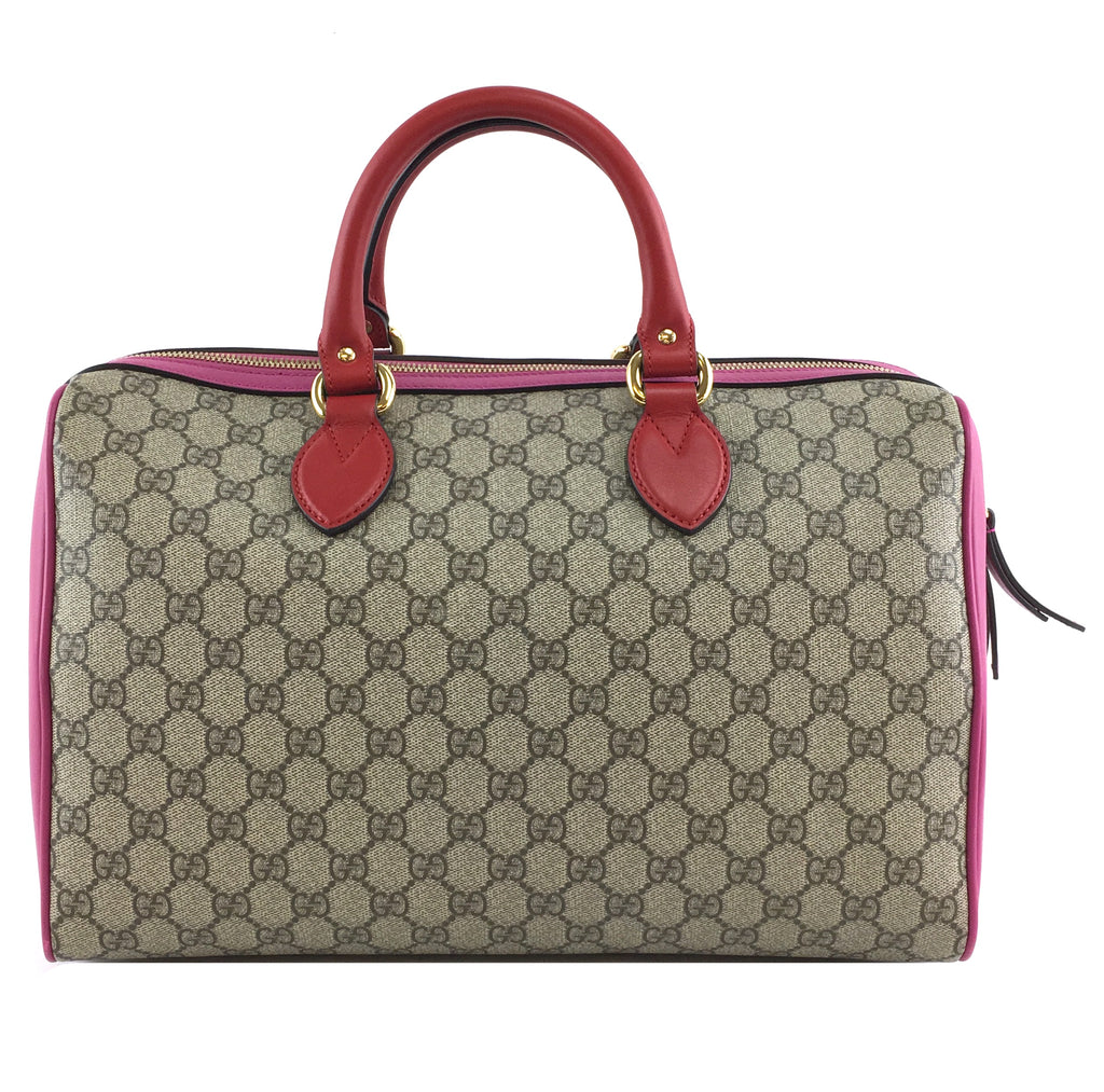 Gucci Boston GG Guccissima Canvas and Leather