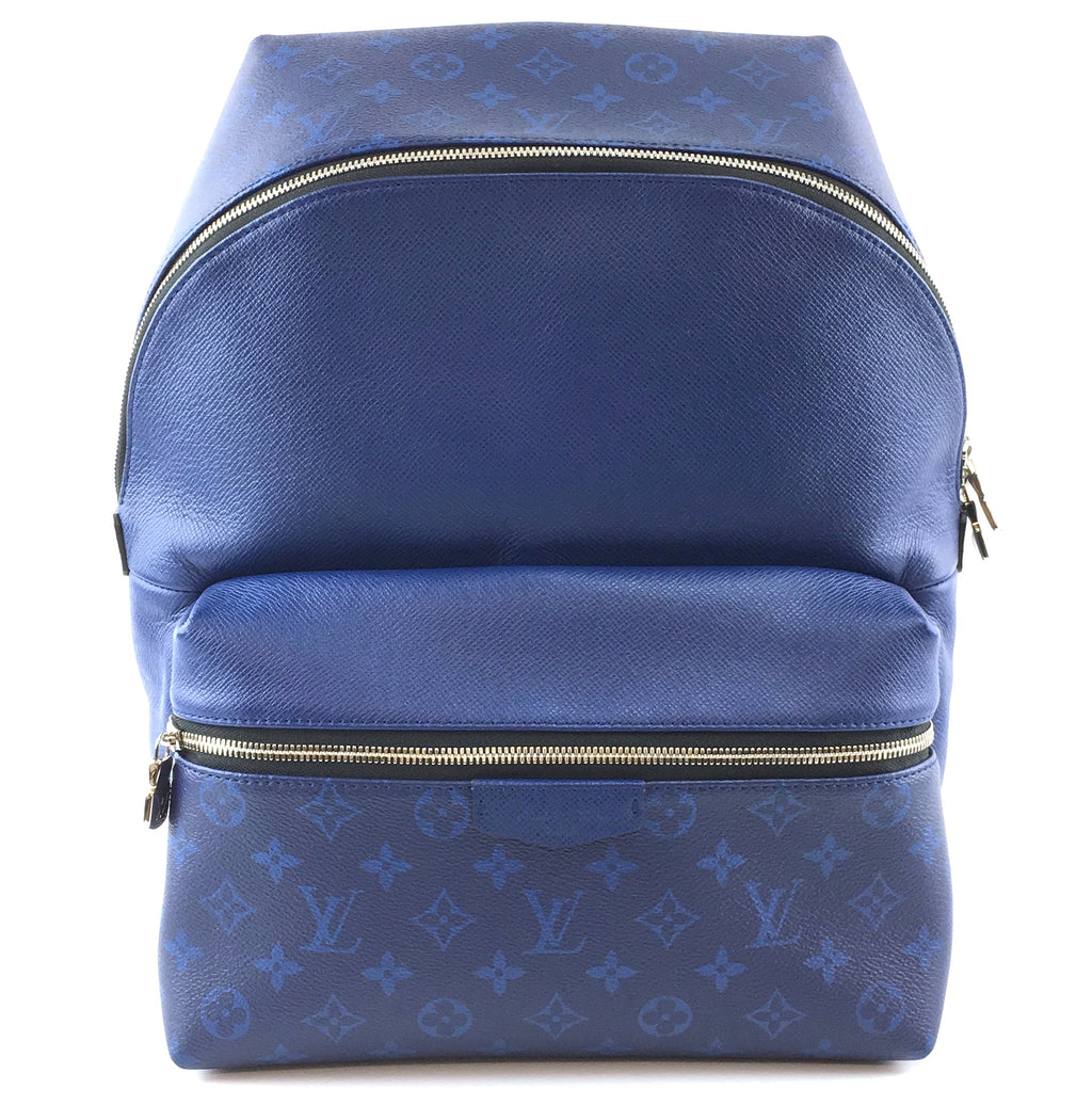 Louis Vuitton Discovery Monogram Canvas and Taiga Leather Backpack