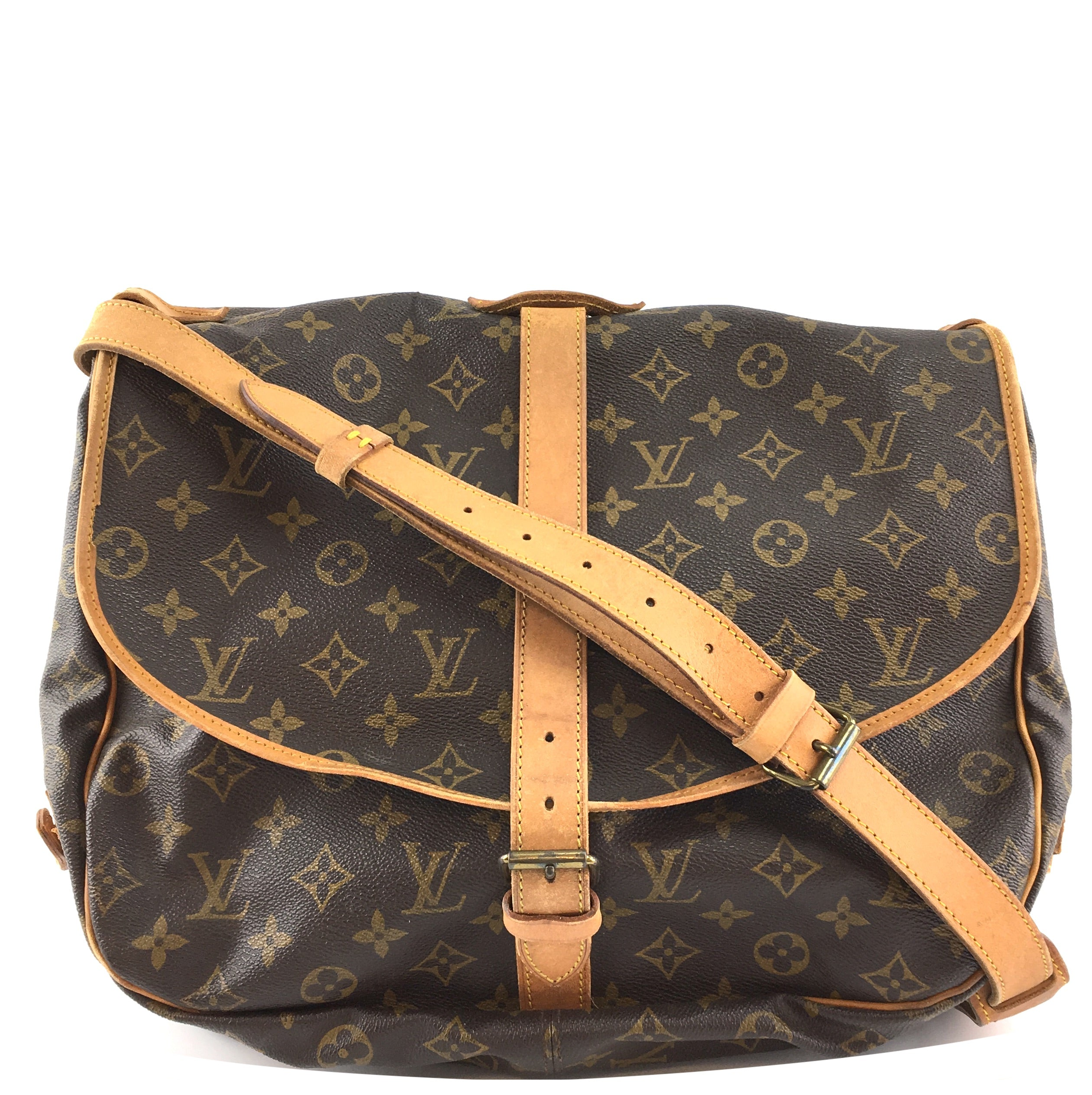 Louis Vuitton Saumur 35 Monogram Canvas