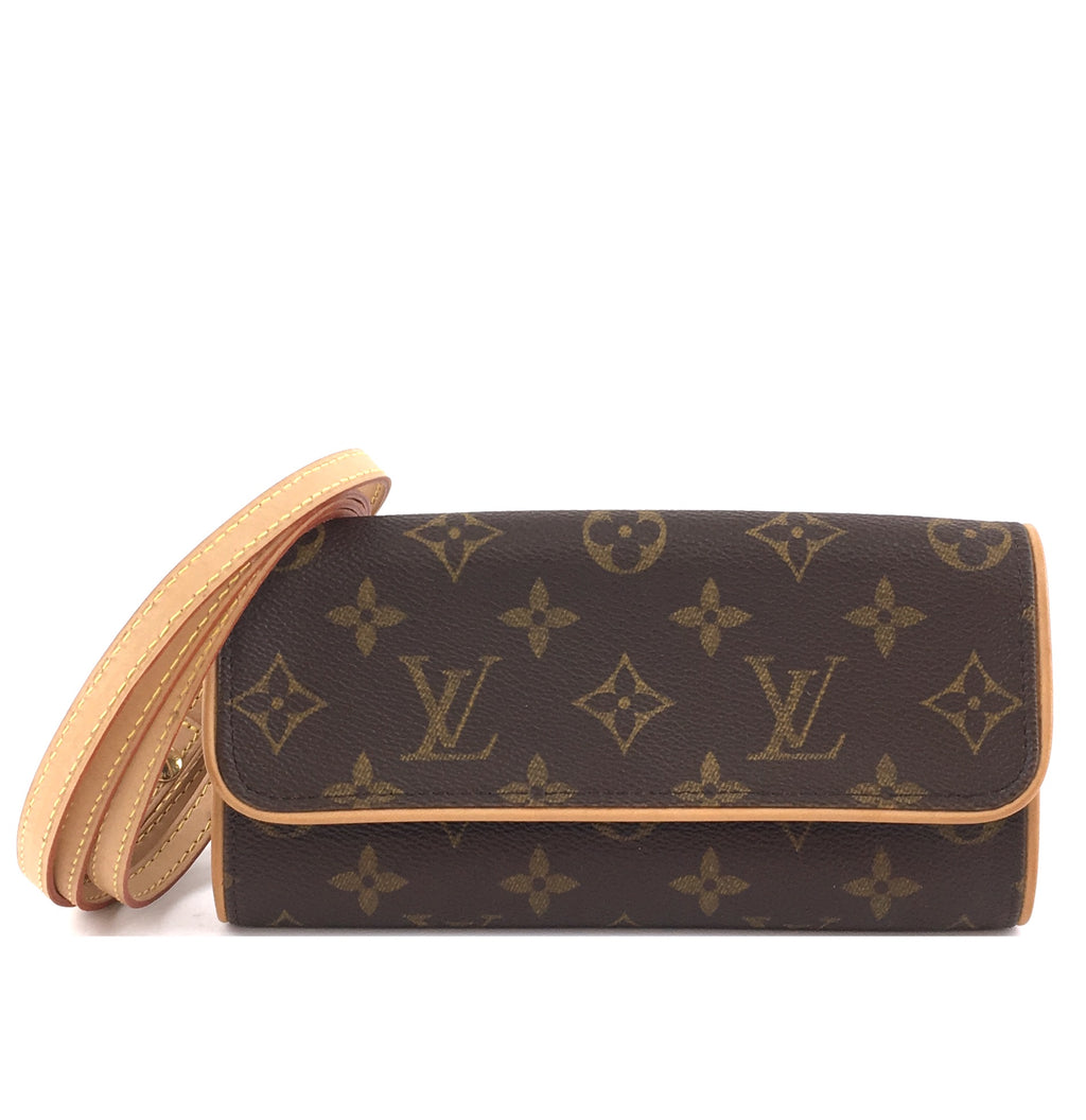 Louis Vuitton Pochette Twin PM Monogram Canvas