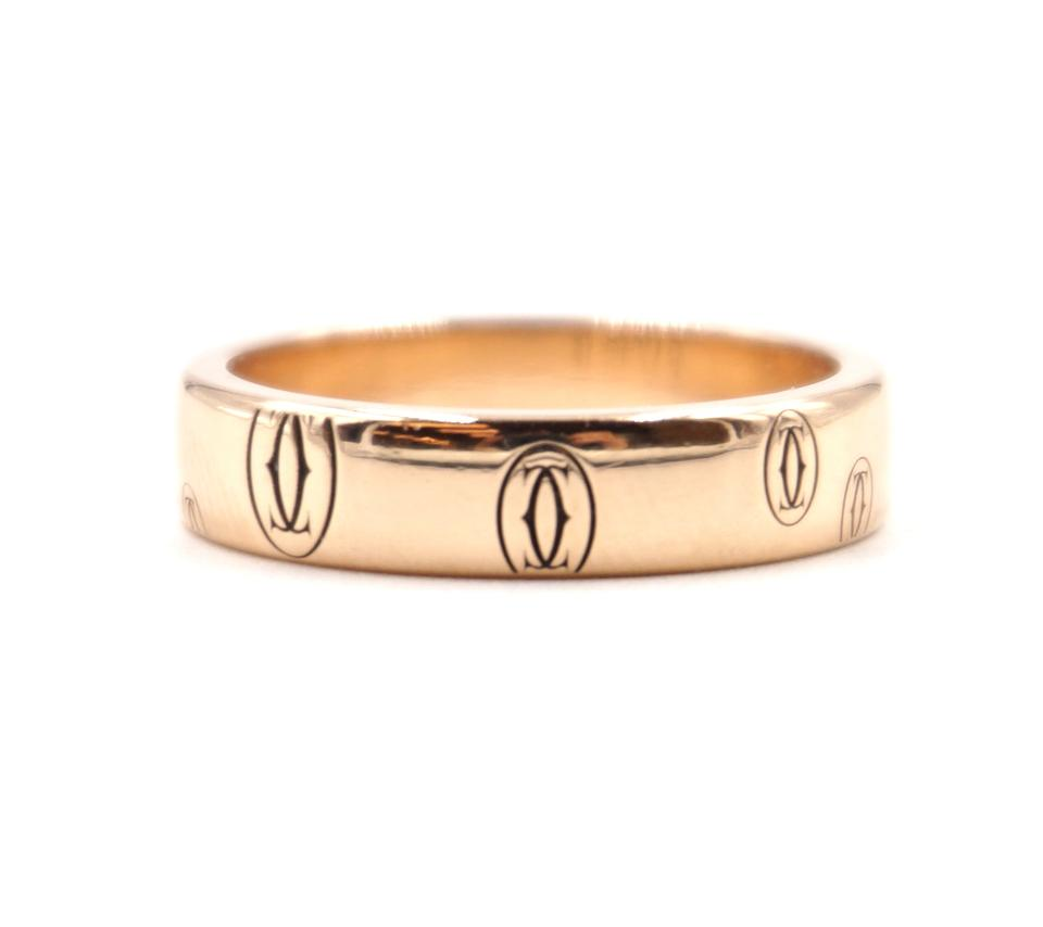 Cartier 18k Happy Birthday Band Size 48