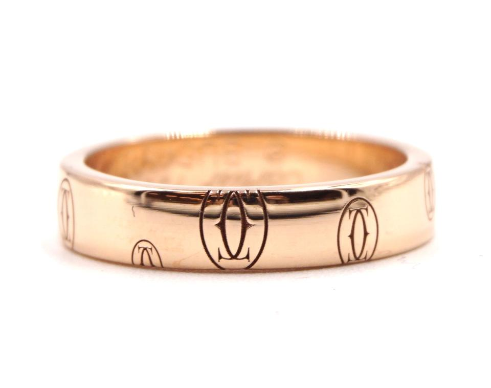 Cartier 18k 750 Happy Birthday Band
