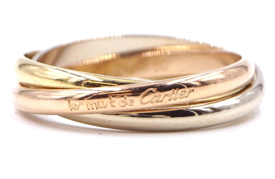 Cartier 18k 750 Trinity Size 50 Ring