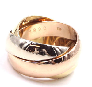 Cartier 18k 750 Trinity Size 49 Ring