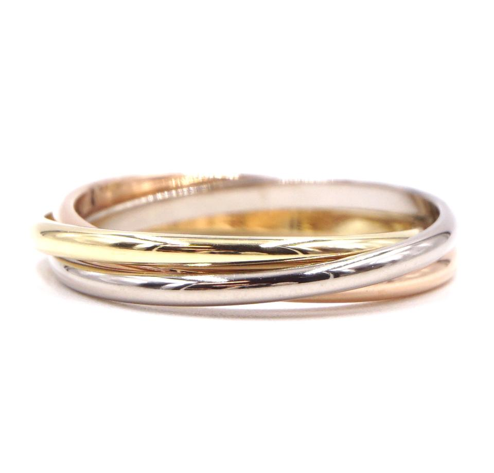 Cartier 18k 750 Trinity Size 51 Ring