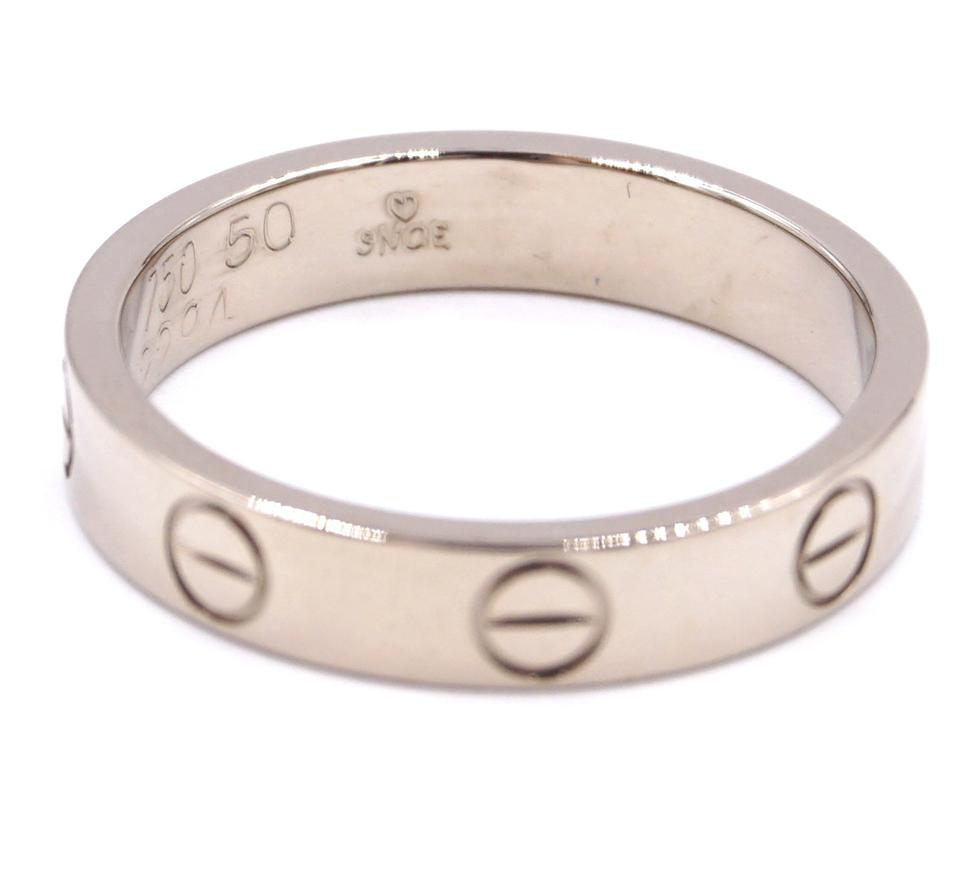 Cartier 18k 750 Love Band Size 50