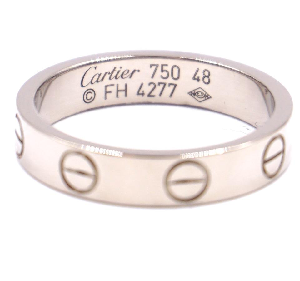 Cartier 18K 750 Love Band Size 48