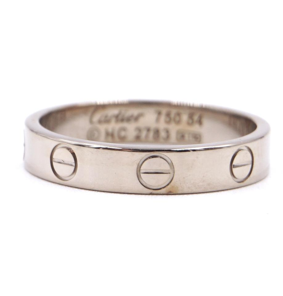 Cartier 18K 750 Love Band Size 54