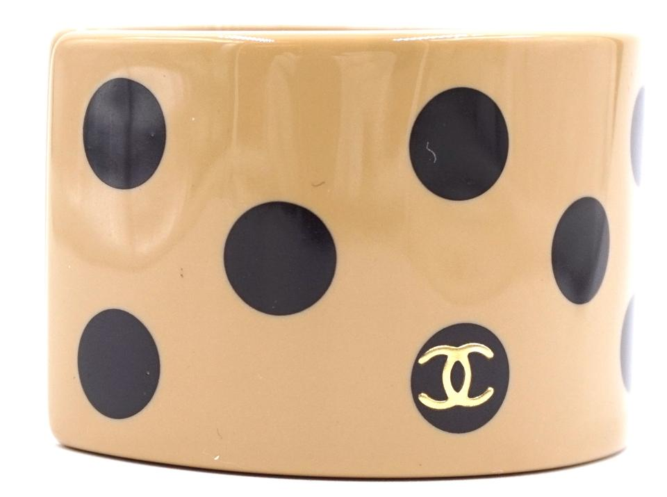 Cc Wide Dots Resin Bangle