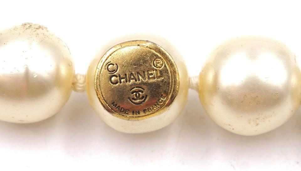 Chanel CC Crystals Pearls Hardware Choker