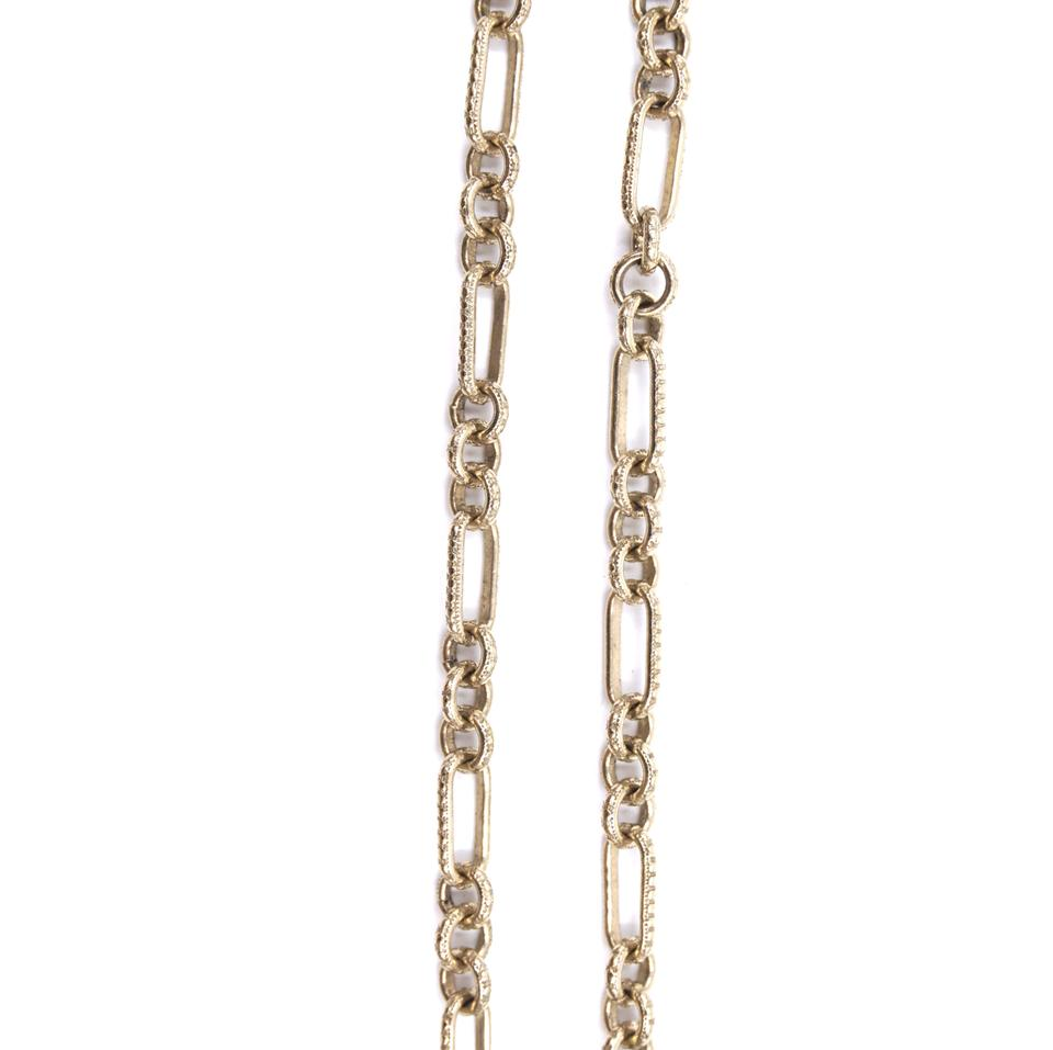 Chanel CC Crystals Gripoix Baguette Necklace