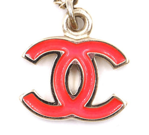 Chanel Timeless CC Enamel Plated Necklace