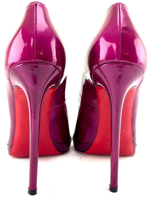 Christian Louboutin Purple Pumps EU size 40 (approx US 10)