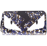 Fendi Print Monster Organizer Long Wallet