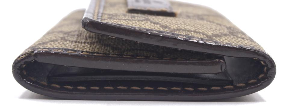 Gucci Brown Guccissima Trifold Wallet