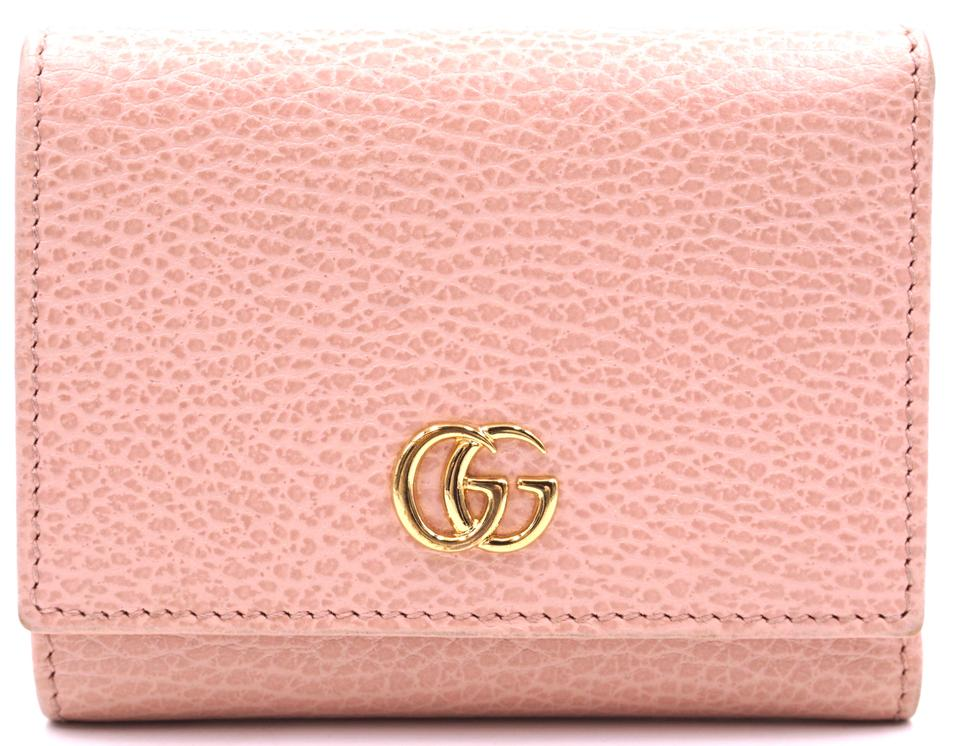 Gucci Marmont GG Logo Trifold Organizer Wallet