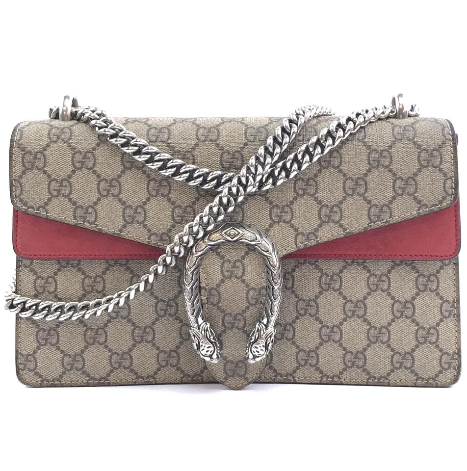 Gucci Dionysus Small Beige Canvas