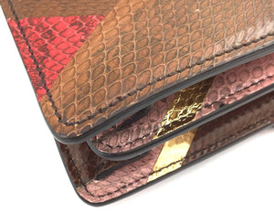 Gucci Dionysus Multicolor Python Skin Leather