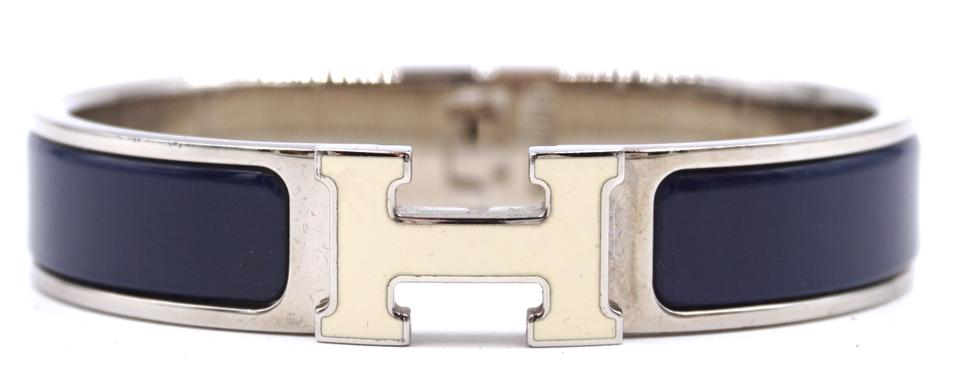 Enamel H Clic Clac Pm Hardware Bangle