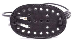 Hermes Mirage Perforated H Leather Strings Belt