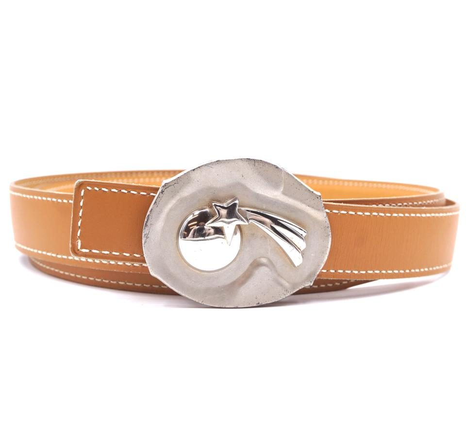 Hermes Shooting Star Size 100 Reversible Leather Belt