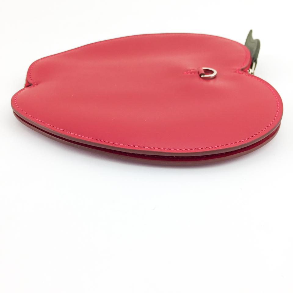 Hermes Apple Fruitti Tutti Large Red Leather