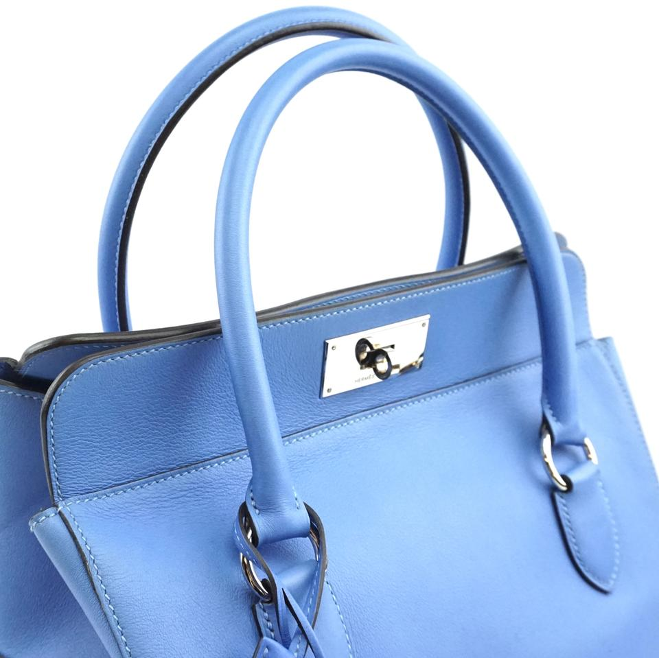 Hermes Toolbox 26 Blue Swift Leather