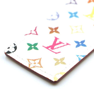Louis Vuitton Monogram White Multicolor Bookmark Charm