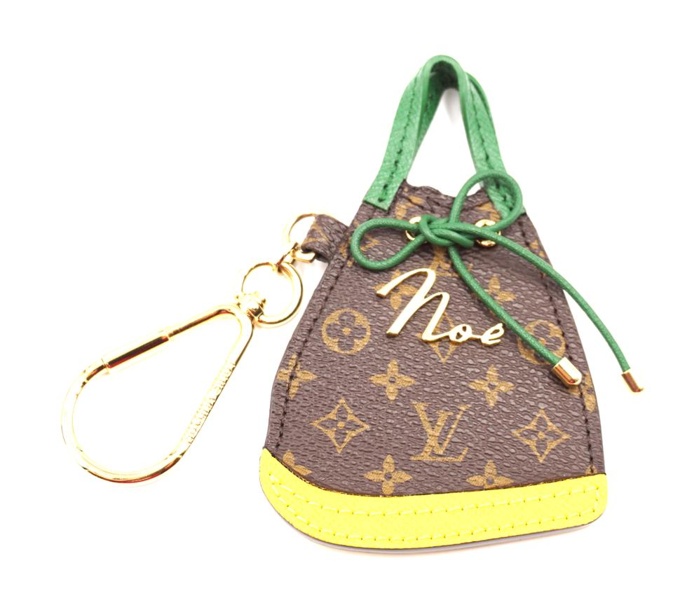 Louis Vuitton Monogram Noe Bag Charm