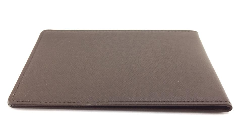 Louis Vuitton Monogram Taiga Leather Bifold Card Wallet