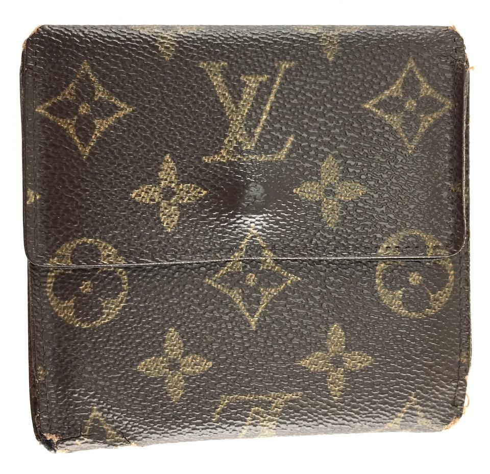 Louis Vuitton Monogram Double Sided Flap Wallet
