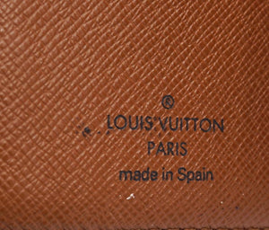 Louis Vuitton Monogram Ring Agenda Pm Card Wallet