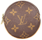 Monogram Round Zip Around Coin Purse Wallet