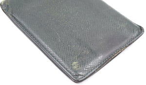 Louis Vuitton Taiga Leather Bifold Compact Wallet