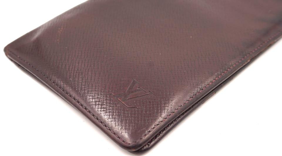 Louis Vuitton Taiga Long Bifold Wallet
